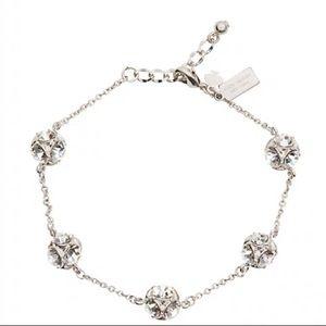 NWT Kate Spade lady marmalade silver bracelet.